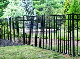 100 Asbury Black Aluminum Fence Material List At Menards