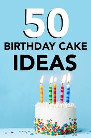 50 easy birthday cake ideas six