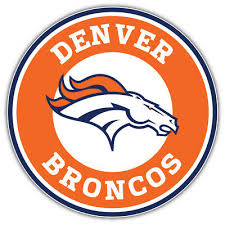 3 Or 5 Denver Broncos Nfl Usa Flag Car Bumper Sticker Decal