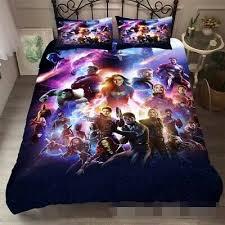 endgame 3d printed bedding set quilt