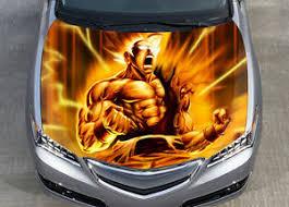 Goku Dragon Ball Z Car Hood Wrap Color Vinyl Sticker Decal Fit Any Car Ebay