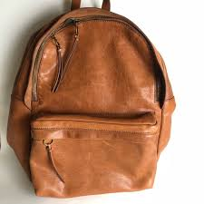 lorimer leather backpack
