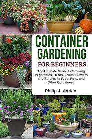 container gardening for beginners the