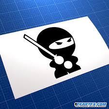 Jdm Ninja Car Vinyl Decal Sticker Fear7fx