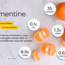 clementine nutrition facts and health