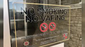 e cigarettes vaping in smoke free air law