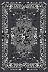 persian rugs gray white black 5x7