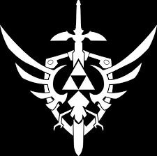 Triforce Shield Legend Of Zelda Sword Sticker Decal Car Truck Etsy Legend Of Zelda Triforce Zelda Sword