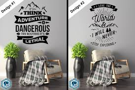Motivational Quotes 10 Designs Vinyl Wall Decals Pick Etsy