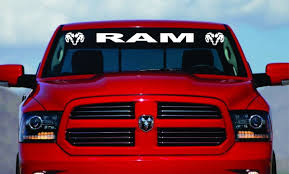 Buy 40 Dodge Ram Hemi Windshield Logo 1500 2500 3500 Vinyl Decal Sticker Vinyl Gift Gray In Cheap Price On Alibaba Com