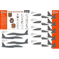 Two Bobs 48267 Decals Mcdonnell F 15e Strike Eagle Nose Decals 1 48 The Largest Choice With 1001hobbies Com