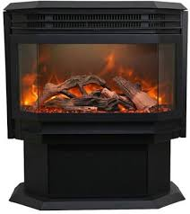 inch freestanding electric fireplace