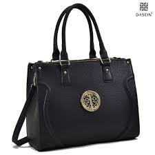 women handbags vegan leather briefcase