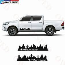2pcs 4x4 Off Road Forest Graphics Vinyl Decals Car Sticker Pick Up Trunk Body Stickers Auto Accessories For Ford Toyota Subaru Car Stickers Aliexpress
