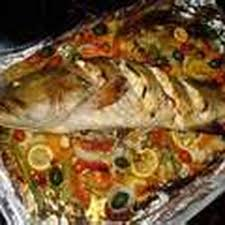 Whole Fish Roasted with a Medley of ...