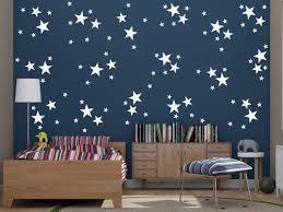 96 Mixed Size White Stars Wall Art Stickers Decals Confetti Stars Ramutes On Artfire