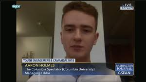 Aaron Holmes on Youth Engagement and Campaign 2018 | C-SPAN.org
