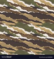 camouflage wallpaper vector image