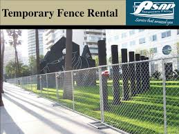 Ppt Temporary Fence Rentals Powerpoint Presentation Free Download Id 7330550