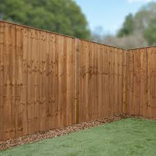 6ft X 6ft Vertical Hit And Miss Pressure Treated Fence Panel One Garden
