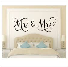 Mr And Mrs Wall Decal Mr And Mrs Vinyl Decal Couple Wall Decal Etsy