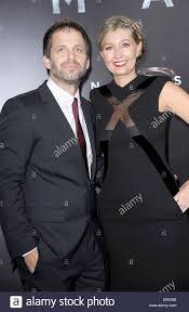 New York, USA. 10th June 2013. Zack Snyder, Deborah Johnson at ...