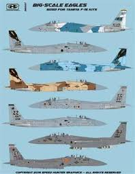 Speed Hunter Graphics 32007 1 32 Decal Big Scale Eagles For Tamiya Victory Models