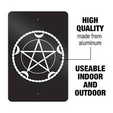 Wiccan Goddess Decal Wiccan Three Moon Crescent Moons Vinyl Decal Triple Moon Sticker Stickers