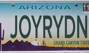 license plates that were rejected