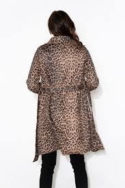 Adeline Brown Leopard Coat – Blue Bungalow