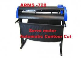 Dc Servo Plotter Sticker Cutting Machine Vinyl Cutter Plotter Printer With Contour Cut