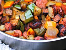 turkey kielbasa hash recipe and