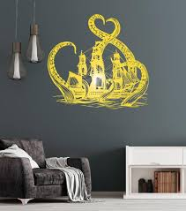Vinyl Wall Decal Kraken Octopus Ship Nautical Ocean Teen Room Stickers Wallstickers4you