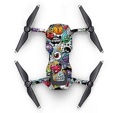 Dazzling Body Sticker Suit Waterproof Pvc Sticker Decal Skin Cover For Dji Mavic Air Type Ma09 As Shown Buy At The Price Of 14 23 In Lightake Com Imall Com