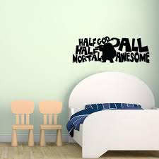 Half God Half Mortal All Awesome Moana Wall Decal Sticker 34 8 W X 12 Lucky Girl Decals