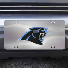 Nfl Carolina Panthers Diecast License Plate Fanmats Sports Licensing Solutions Llc