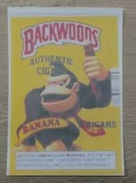 Backwoods Cigars Banana Donkey Kong Vinyl Decal Sticker Xl Ebay