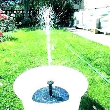 solar water fountains for gardens