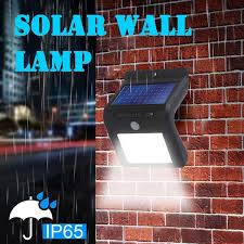 Led Solar Light 20 50 70 Led Beads Outdoor Fence Wall Lamps Led Solar Powered Wall Light Motion Sensor Outdoor Garden Security Lamp Wish