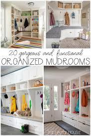 organized mudrooms
