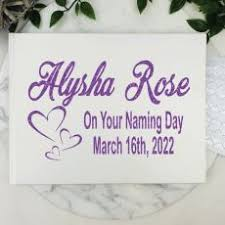 naming day photo al personalised