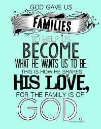 god gave us families printable friends are family quotes