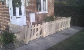 small front garden fence
