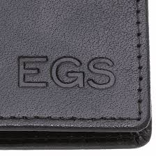 leather business credit card case