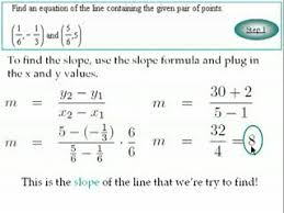 linear model with two point regression