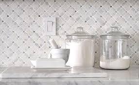 marble mosaic tile backsplash kitchen