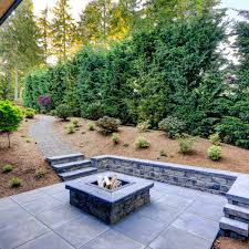 backyard fire pit without doing