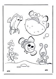 Nemo Dikke Vis Nemo Kleurplaten Kleurplaat Com