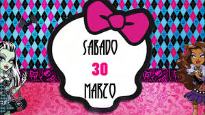 Invitacion Animada Monster High Youtube