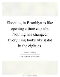 shooting in brooklyn is like opening a time capsule nothing has